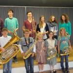 Unsere Nachwuchsmusiker