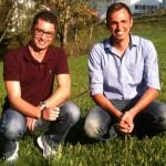 Dirigent Manuel Mayer und Vorstand Andreas Eldracher